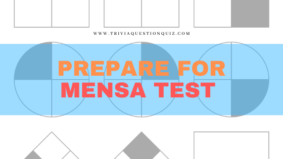 Prepare for Mensa Test Professionally from Home