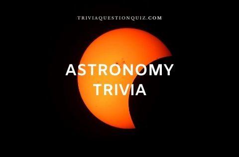 astronomy trivia