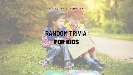 random trivia for kids