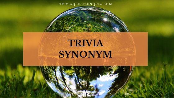trivia synonym