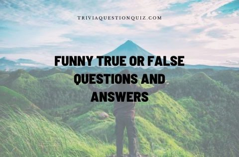 funny true or false questions and answers