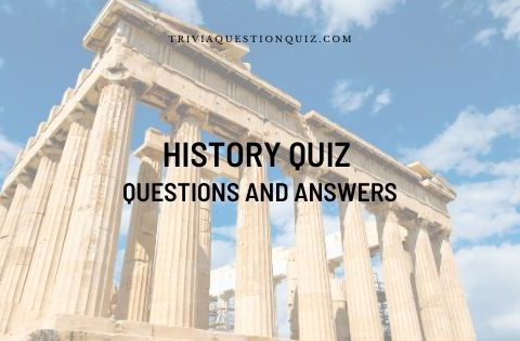 history quiz questions and answers