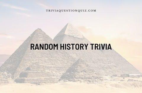 random history trivia