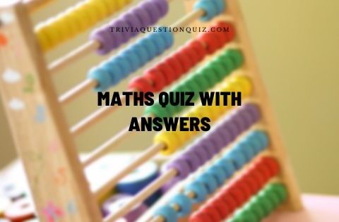Maths Quiz with Answers