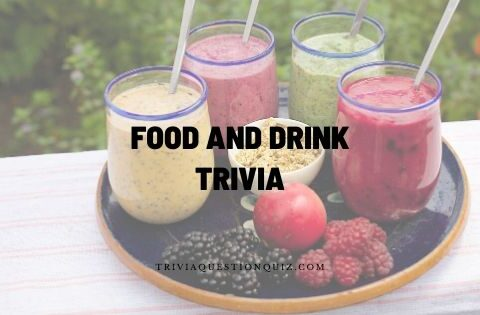 food and drink trivia