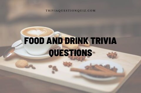 food and drink trivia questions