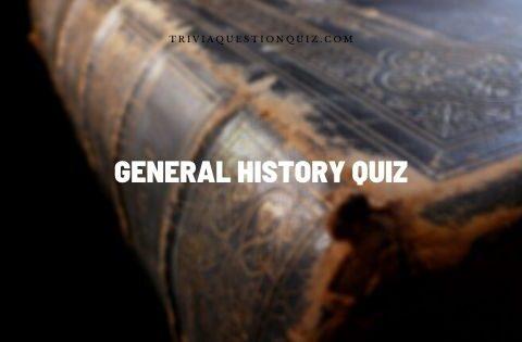 general history quiz