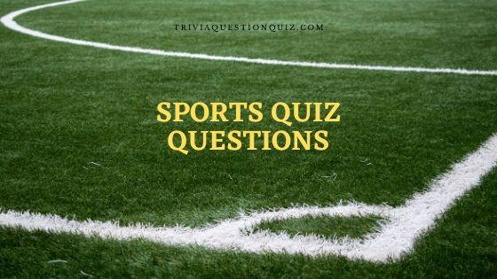 sports quiz questions