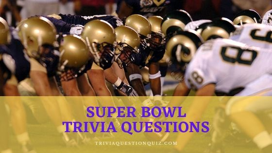 super bowl trivia questions