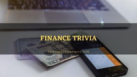 finance trivia